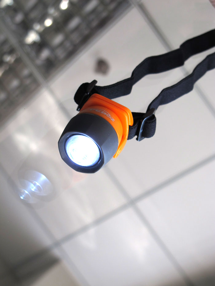 Emergency waterproof mini LED headlights - orange-PL-5105-Figure 10 shows