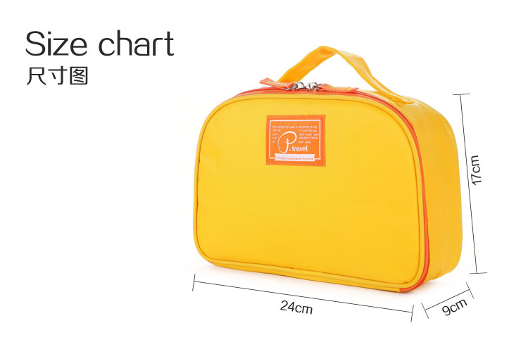 large capacity travel wash bag-Size chart