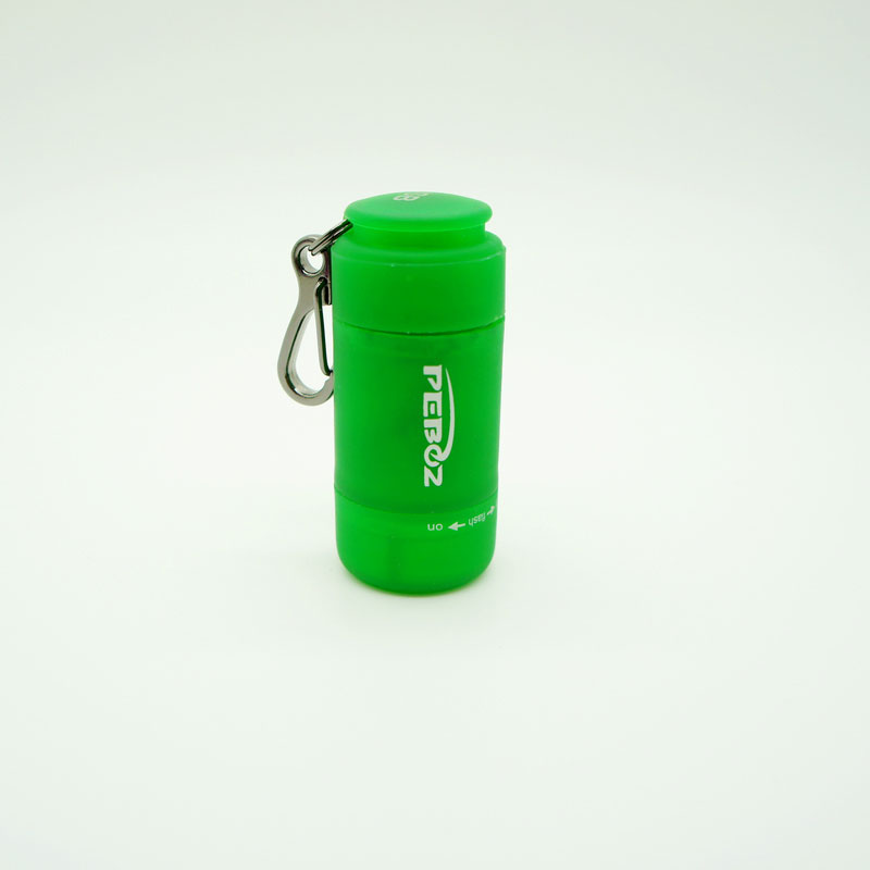 Mini Torch with Keychain -Green