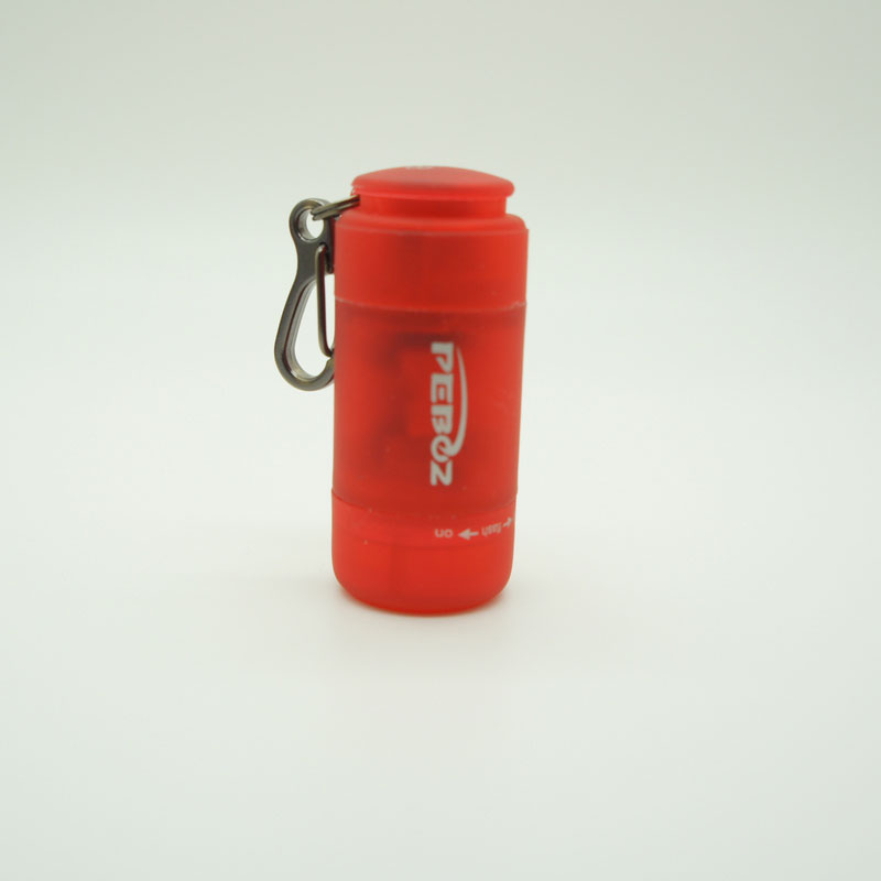 Keychain Mini Torch Light-Red