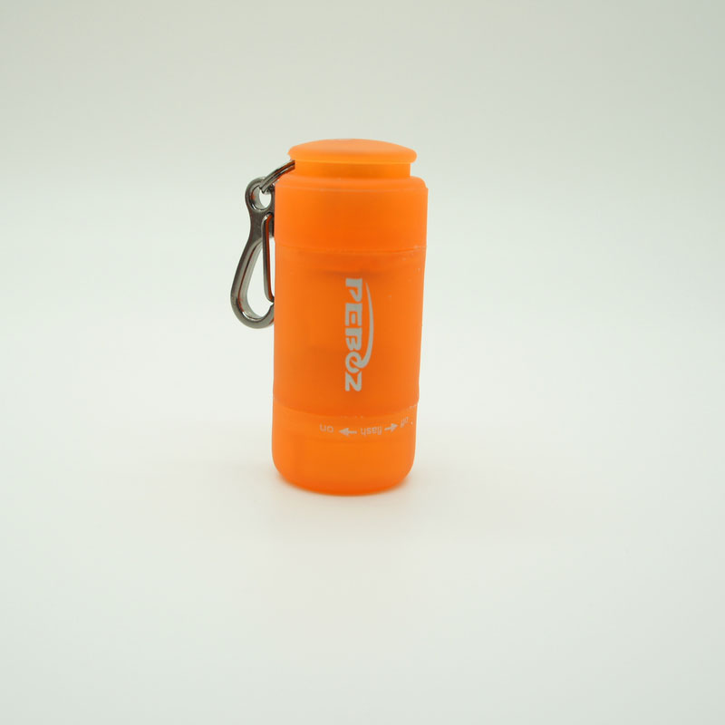Super Bright LED Mini Torch -Orange
