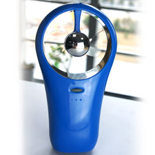 bring you cool mini fan-Like the sea blue